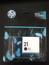 HP 21 Black Ink Printer Cartridge, New, Warranty Ends APR 2021
