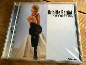 BRIGITTE BARDOT - THE EARLY YEARS (1995) OOP Score Soundtrack OST CD SEALED