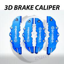 4x Blue 3D Disc Brake Caliper Cover Kit For Volkswagen Golf 16-18 inch wheels