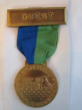 1970 STATE FAIR OF TEXAS - EXPOSITION OF THE SEVEN SEAS - GUEST MEDAL - TUB BN-6