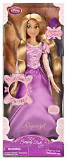 Disney Store Tangled Rapunzel Singing Doll  RARE