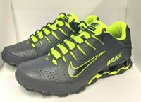 Nike Reax 8 TR Training Shoes Mens Size 11 Anthracite Volt 616272-036 New