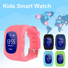 Kids Children Safe GPS LBS Activity Tracker Smart Watch Q50 SOS Call Anti-Lost