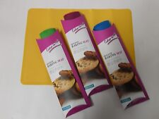 Flexible kitchen-15x11 Silicone Non-stick Baking Mat Perfect for Cookies -2 PACK