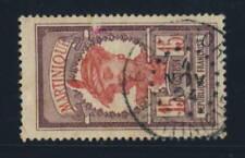 Timbres français oblitérés de 1921 à 1930 violet