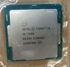 Intel Core i5-7600 - 3.50GHz Quad-Core Processor & Cooling Fan
