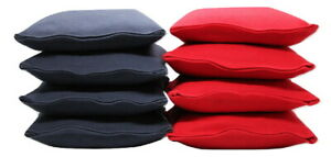 US Made Set of 8 Cornhole Bags ACA Regulation Size Corn Filled Pick Your Colors
