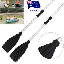 2pcs 133cm Aluminum Detachable Float Afloat Oars Paddles Boat Kayak Raft Canoe B