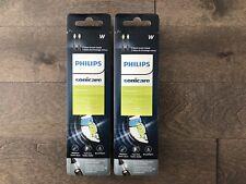 Philips Sonicare DiamondClean Black Replacement Brush Heads HX6062/90, 4 Count