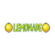 Food Truck Decals Lemonade Concession Restaurant Die Cut Vinyl Sticker L28