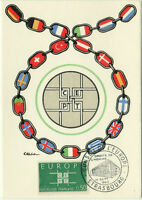 CARTE MAXIMUM 1er JOUR - EUROPA 1963 N° 1397 - STRASBOURG