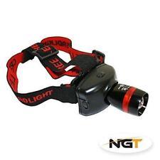 NGT Cree Q5 Headlamp 300 Lumens- Fishing, Biking Camping Hunting Head Torch