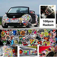 100Pc Mix Colors Bomb Sticker Vinyl Roll For Bike Car Skateboard Laptop