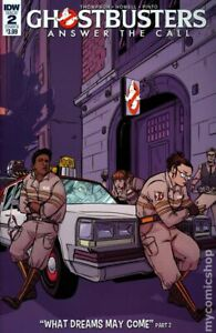 Ghostbusters Answer the Call #2B Vieceli Variant VF 2017 Stock Image