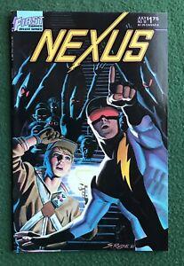 Nexus #10 First Comics Bronze Age Steve Rude Mike Baron sci fi superhero vf/nm