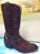 Vtg Mason Chippewa Falls Leather Motorcycle Cowboy Biker Riding Men's Boot 8.5D
