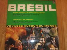 a1 vinyl LP BRESIL soundtrack ORFEU NEGRO ( M Camus  / CARNAVAL A RIO EN DIRECT