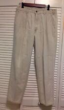 Vintage 80's Levis Silver Tab Pleated Pants Chinos Khakis Mens 34 X 30 Usa~Euc