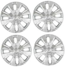 "2012-2014 Toyota YARIS 15"" CHROME Hubcap Wheelcover SET"