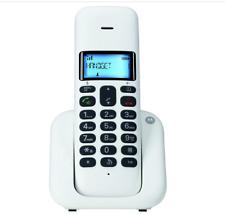 Telefono Cordless DECT GAP Motorola T301 Plus Rubrica Vivavoce Bianco