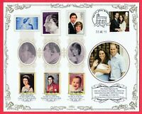 Benham Limited Edition of 100 Birth of Prince George 2013 Cover GB Royalty Royal