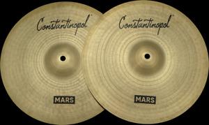 "Constantinopol MARS HI-HAT 13"" (Jazz) - B20 Bronze - Handmade Turkish Cymbals"