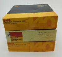Lot of 3 Kodak Carousel Transvue 140 Slide Trays for EKTAGRAPHIC Projectors