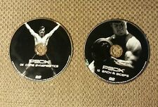 2 - P90X Dvds #8 Core Synergistics And #10 Back and Biceps! Free Shipping!