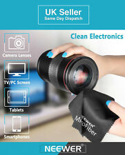 2Pcs Gentle Microfiber Cleaning Cloth Camera Lens, Tablets, Phones & LCD/LED TVs