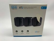 Blink - XT2 In/Outdoor 1080p Camera 3-Pack - Black Scratches