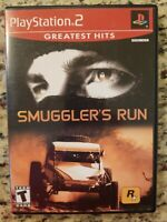 Smuggler's Run Greatest Hits Sony PlayStation 2 2002 CIB Complete PS2 Tested