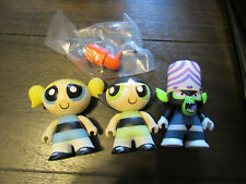 titans vinyl cartoon network powerpuff girls mojo jojo  bubbles buttercup