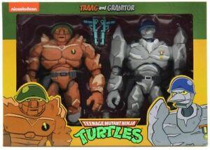 """Teenage Mutant Ninja Turtles 1980 Cartoon 7""""Figure Exclusive - Traag & Granitor"""