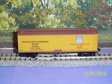 MICRO-TRAINS N SCALE #40' SHEATHED WOOD REEFER w/VERTICAL BRAKE UP. SP. #31425