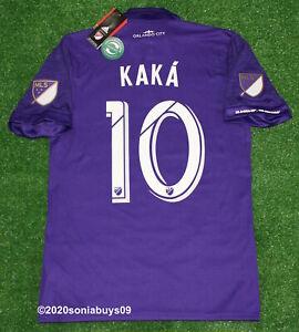 Adidas Men's KAKA Orlando City Home Player Issue Soccer Jersey, Purple, Sizes