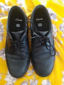 Boys Clarkes School Shoes. 4.5F