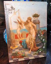 Henri Pierre Picou peinture XIXe mouvement néo-grec huile sur acajou