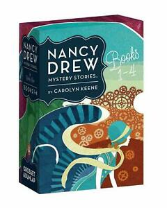 Nancy Drew Mystery Stories Books 4 Books Collection by Carolyn Keene!