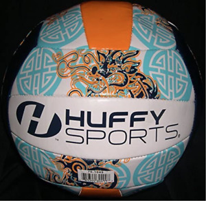 Huffy Volleyball Standard Size Dragon Graphics Indoor / Outdoor Waterproof
