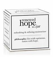 Philosophy Renewed Hope In A Jar Moisturizer 0.5 OZ. New In Box