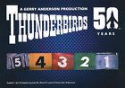 Thunderbirds 50 Years ~ MINI-MASTER SET (Base + Foil Insert Set & 6 Postcards)