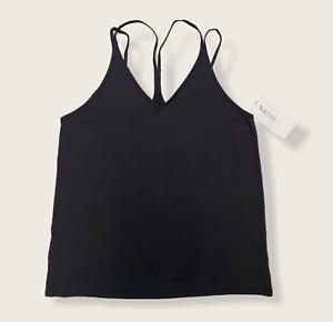 NWT - Womens Athleta Posture Essence Tank - Black - Size Large