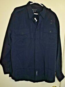 5.11 Long Sleeve Tactical Uniform  Size XL Dark Navy 42147  - XL NWT
