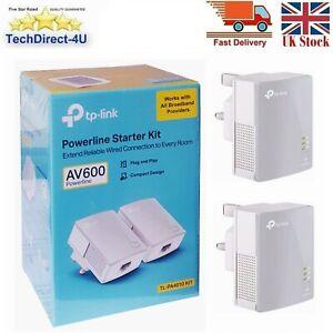 Tp-Link Powerline Starter Kit AV600 Powerline Adapter TL-PA4010 KIT Version 3.0