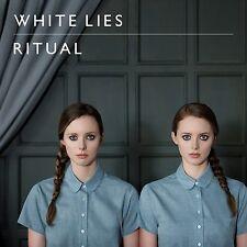 WHITE LIES ( NEW SEALED CD ) RITUAL ( BIGGER THAN US )