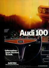 AUDI-100 GL-1971-Reklame-Werbung-genuine Ad-La publicité-nl-Versandhandel