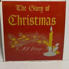101 Strings – The Glory Of Christmas: Alshire 1966 Vinyl LP Album Stereo (Folk)