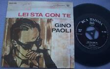 GINO PAOLI Lei Sta Con Te RCA ITALY PICTURE SLEEVE Ennio Morricone Film Movie
