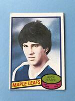 Rick Vaive 1980-81 Rookie O-Pee-Chee Hockey Card #242 Toronto Maple Leafs