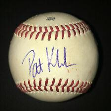 Pat Kivlehan SIGNED Southern League GAME USED Baseball - Pittsburgh Pirates